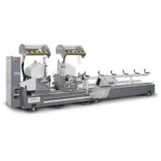 Двухголовочная автомат пила по алюминию и ПВХ Comall MACH 500/550 KIBI