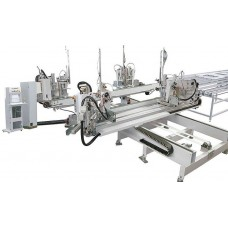 Четырехголовочная машина для сварки ПВХ CNC ProfteQ QUAD OS12
