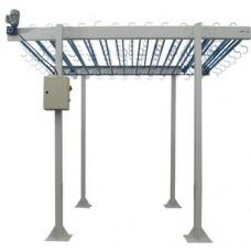 Конвейер для переноса дистанционных рамок от экструдера к линии сборки Best Makina Rack