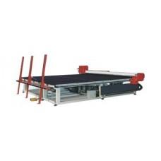 Автоматический стол для криволинейной резки стекла OCS glass PUMA-S